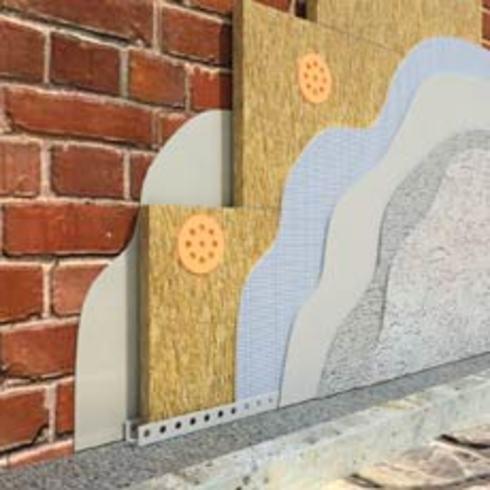 Технология штукатурки мокрый фасад