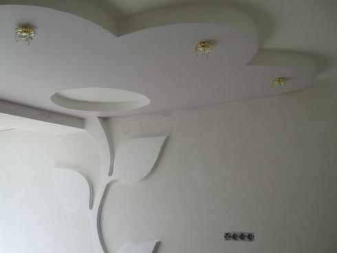 Гипсокартонные конструкции на стене