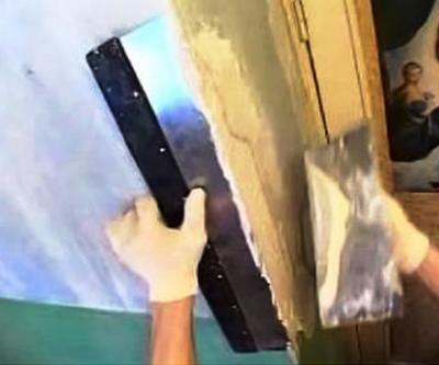 Как выровнять углы стен в квартире