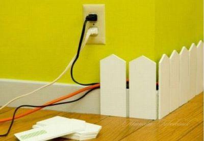 Прячем провода в квартире