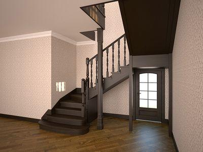 Опалубка лестница с забежными ступенями своими руками фото 45