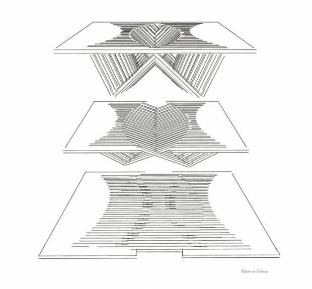 Восход стола от Роберта ван Эмбрискса