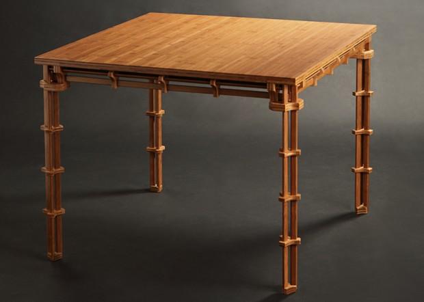 Бамбуковая мебель от Джеффа Дайю Ши