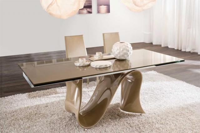 Стекло в интерьере и в мебели