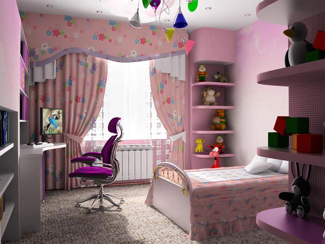 Какой дизайн выбрать для комнаты ребенка
