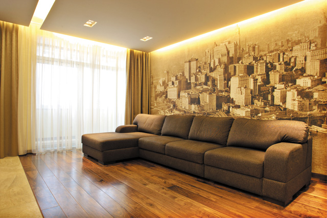 Нестандартные материалы для отделки квартиры