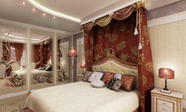 Интерьер квартиры в восточном стиле