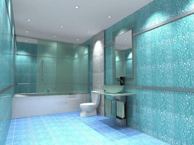 Как и чем отделать стены в ванных комнатах