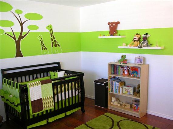 Дизайн детской комнаты для младенца