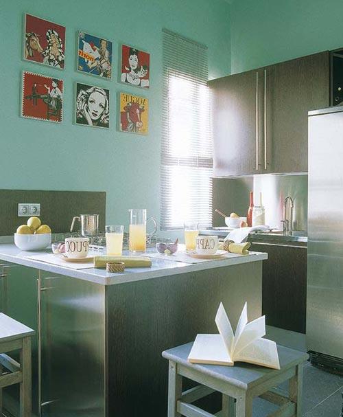 Кухня в два ряда в этом случае дизайн