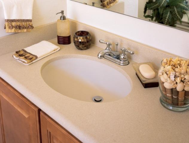 Изготовление столешницы для ванной