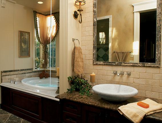 Украшаем ванную своими руками в стиле SPA