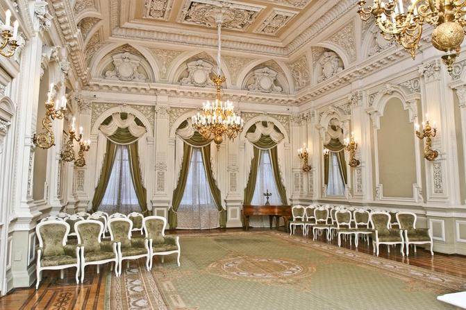 Дворец «Малютка» в Санкт-Петербурге - особый отдел ЗАГСа