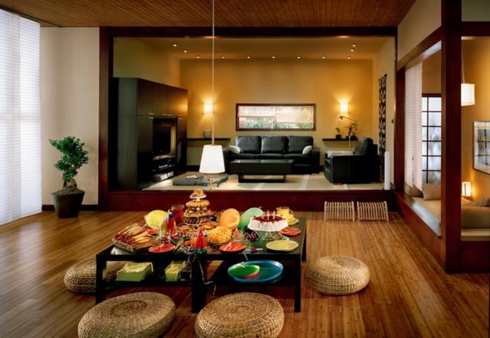 Восточный стиль в интерьере. Интерьер гостиной, прихожей и всей квартиры в восточном стиле