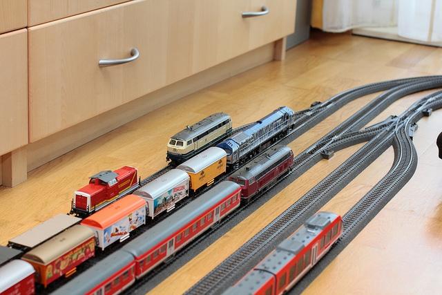 Железная дорога Mehano - для детей и взрослых