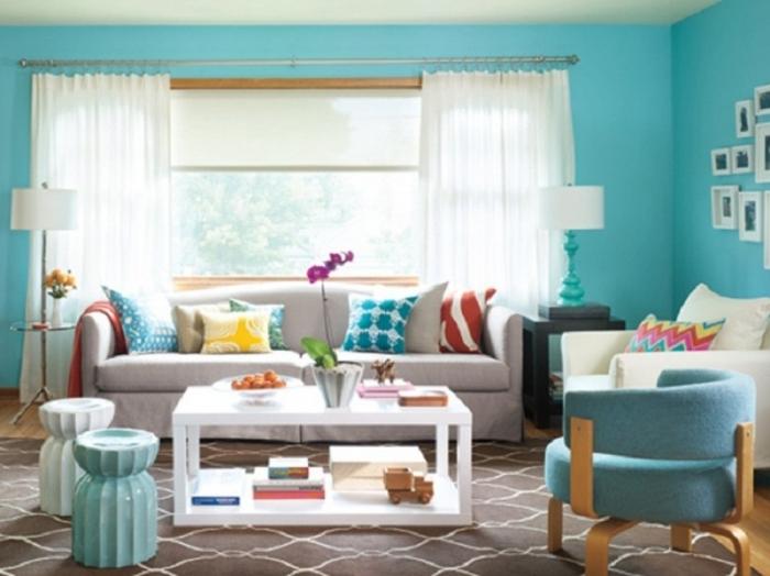 Цветовые сочетания в интерьере: модные тенденции и классические правила