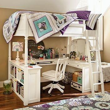 Как должна выглядеть комната девочки-подростка?