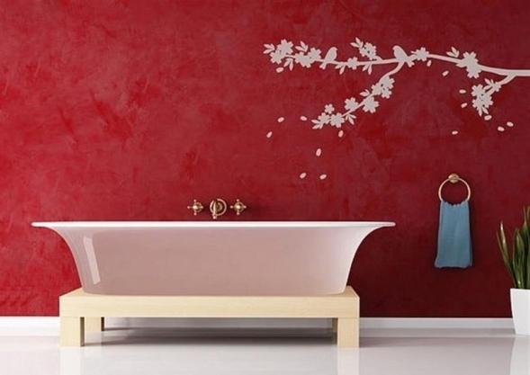Наклейки в ванную комнату – способ быстро обновить интерьер