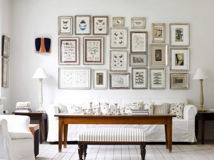 Декор стен в гостиной: интересные идеи для вашего дома