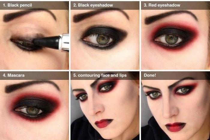 Как сделать макияж вампира на Хэллоуин. Практические советы