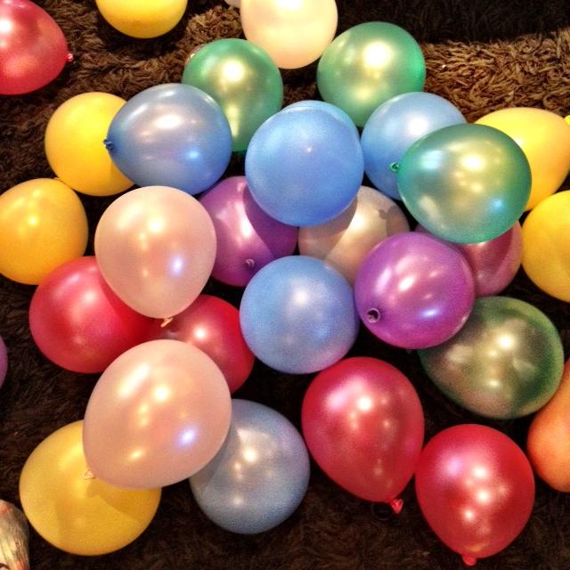 Цифра из шаров - как ее сделать?