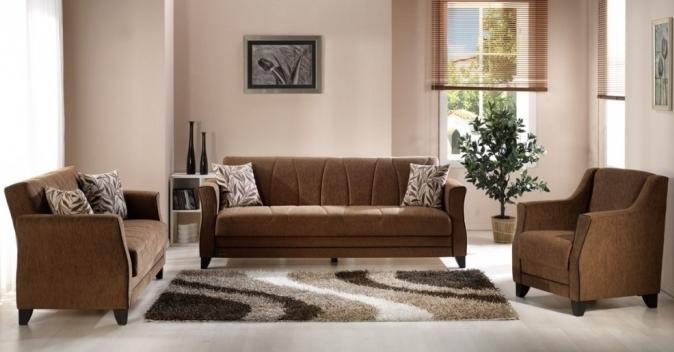 Аристократичный и элегантный бежевый цвет в гостинной