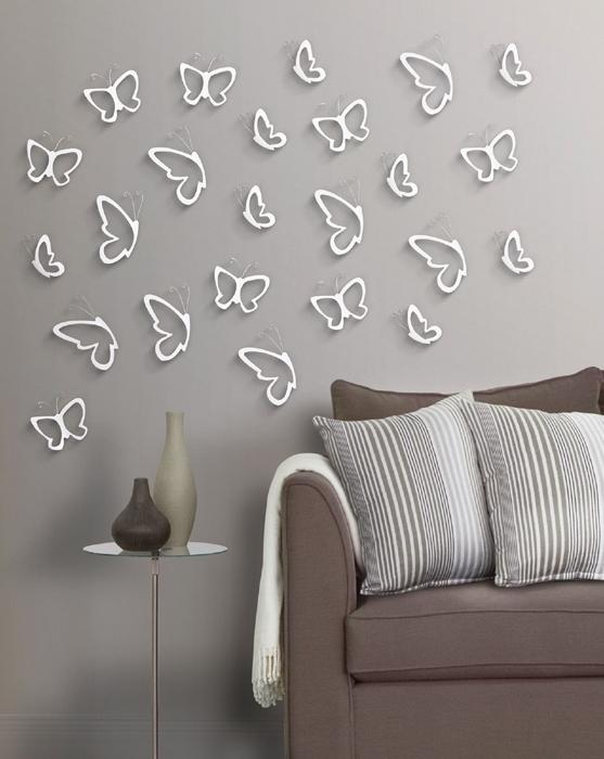 Аппликация на стену - занимаемся декором интерьера