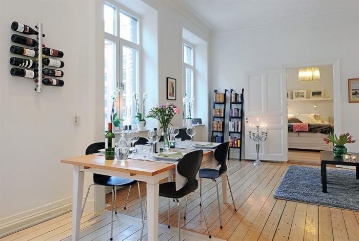 Стиль в интерьере в гостиной: японский и скандинавский