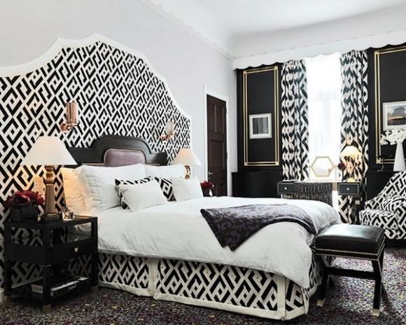 Декор спальни. Различные варианты