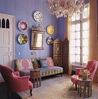 Бохо - стиль в интерьере помещения. Основные тенденции