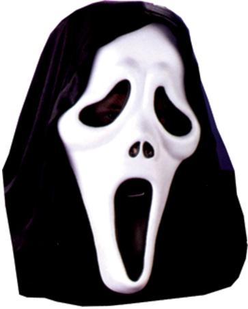 Как сделать маску призрака