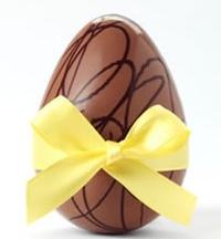 Яйцо с сюрпризом - шоколадный тандем
