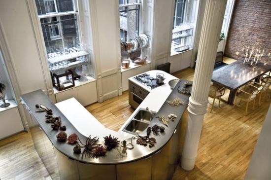 Кухня в стиле лофт - для неординарных и творческих личностей