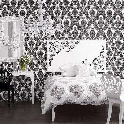 черно белые обои в интерьере обои в интерьере гостиной фото