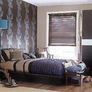 Как подобрать комбинированные обои для спальни