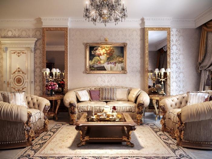 Стили мебели: классические, традиционные и современные. Стили мебели: классика, барокко, ампир, кантри, прованс и другие