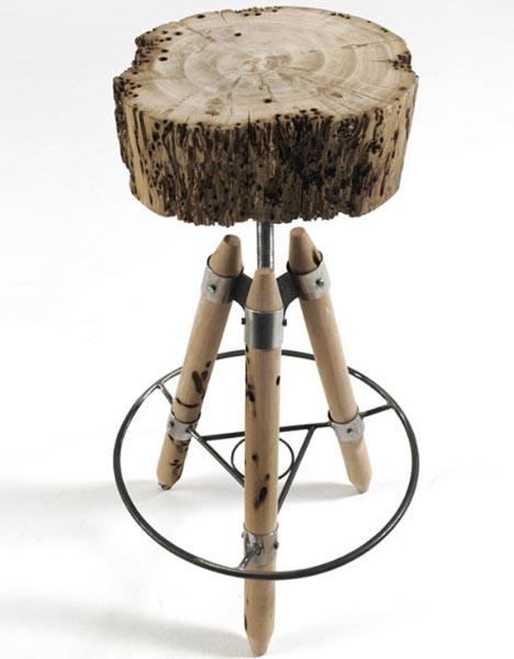 Предметы мебели из<br />  «бракованного» дерева