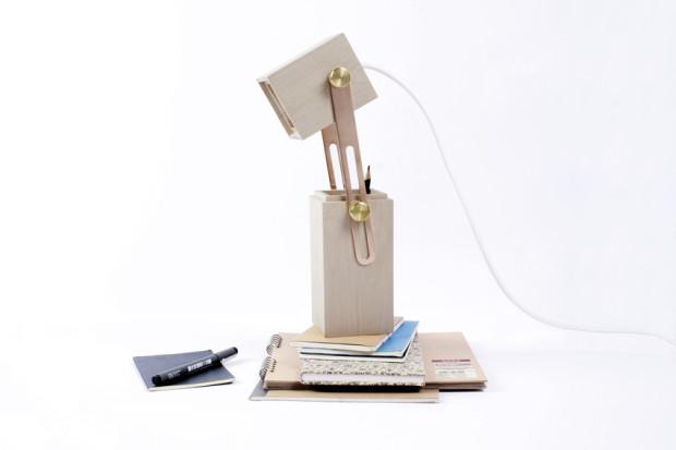 Светильник-карандашница ото Кэролайн Олссон