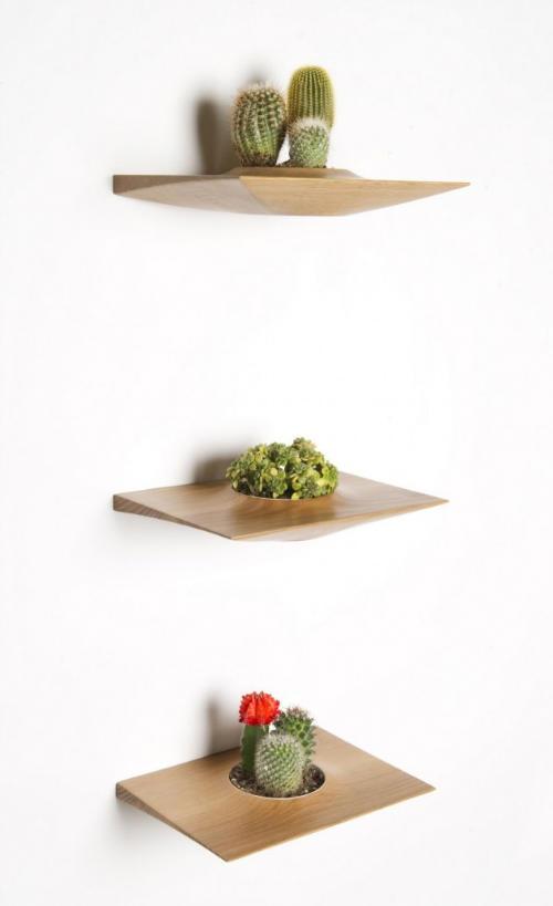 Полки для<br />  цветочных горшков