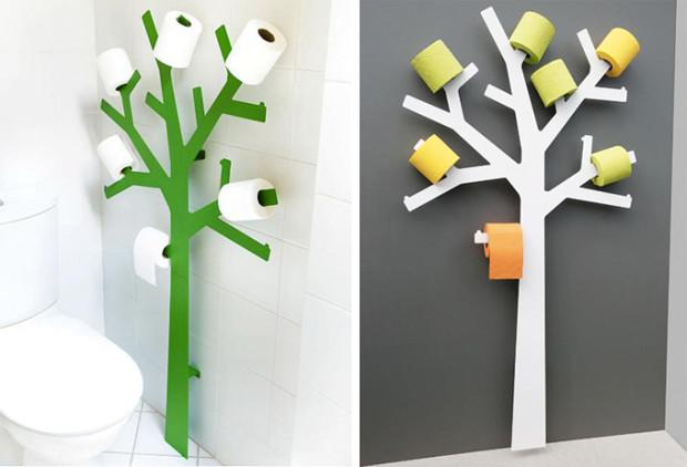 PQtier. Дерево для хранения туалетной бумаги