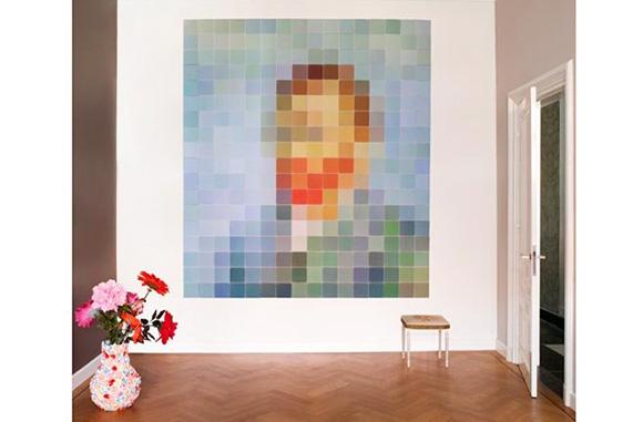Пиксельные фрески