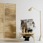 Мебель, созданная изо мочалок
