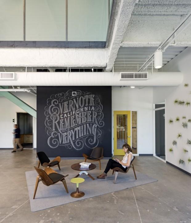 В офисе компании Evernote