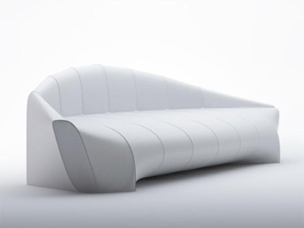 Минималистичный диван-дирижабль