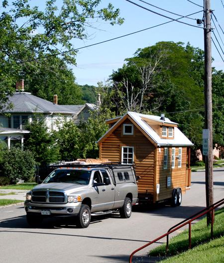 Деревянный мобильный<br />  дом