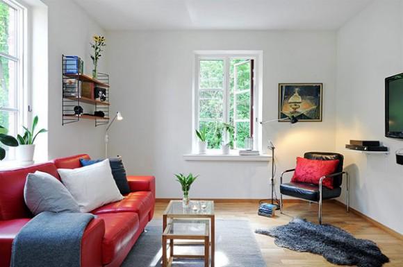Жилые комнаты ради вдохновения