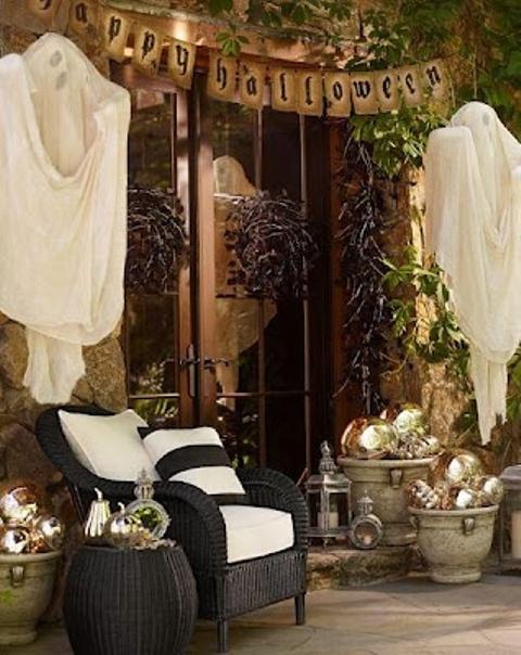 28 идей ради оформления дома к Хэллоуину
