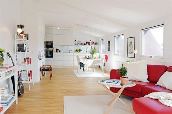 Вдохновляющая квартира