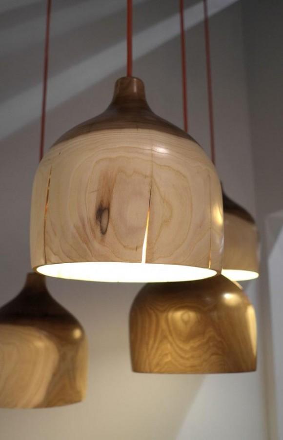 Светильники из<br />  природных материалов